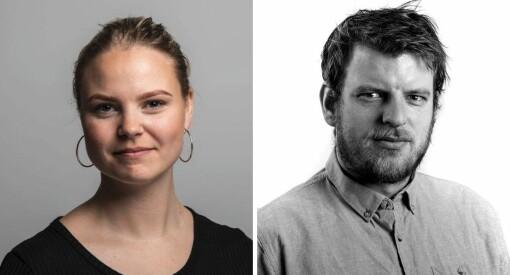 Martin Årseth og Linnea Skare Oskarsen skal utgjøre Klassekampens nye vestlandskontor