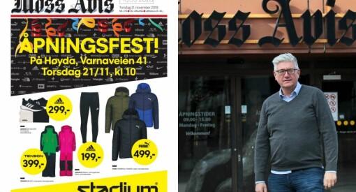Moss Avis solgte forsiden til annonsør: – Synes ikke noe om det, sier klubben