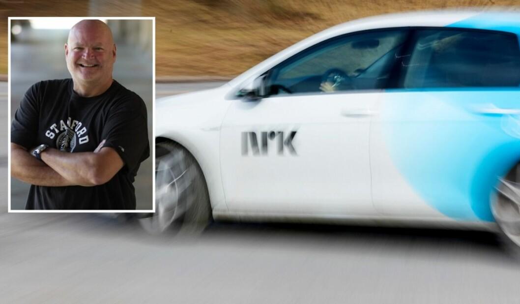 NRKs Konserninnkjøpssjef Morten Warmedal er godt fornøyd med å ha vunnet frem