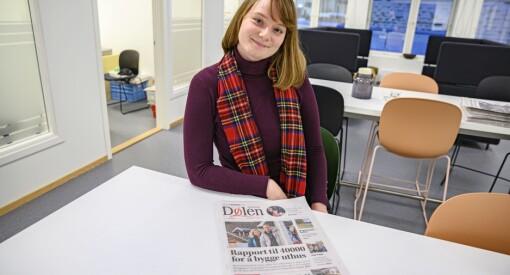 Sigrid Gausen blir politisk reporter i Aftenposten: – En barndomsdrøm som går i oppfyllelse