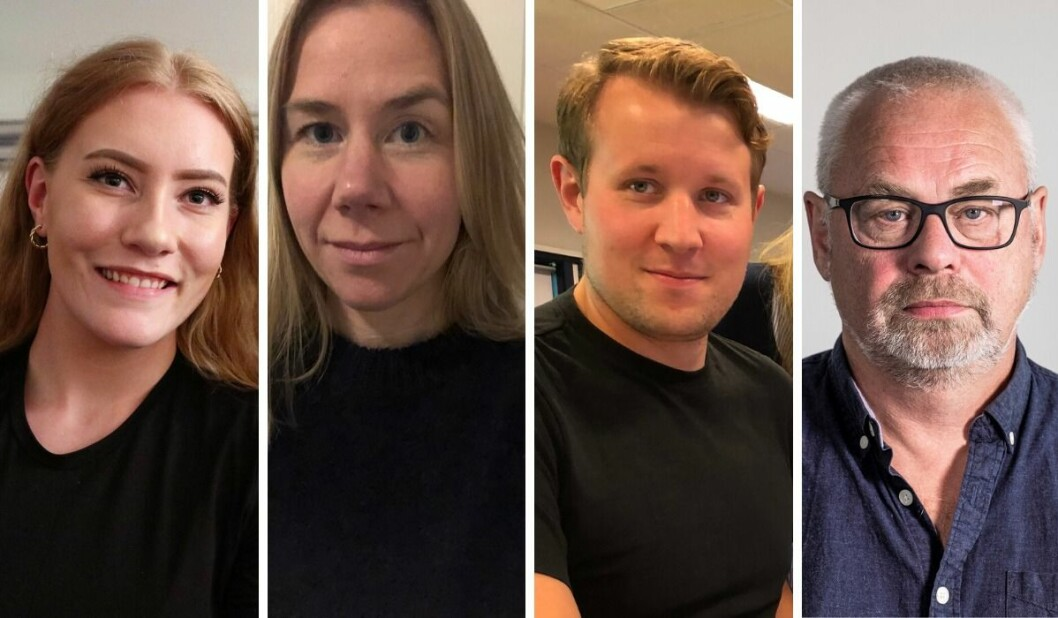 De ansetter tre journalister: Julie Anda Hovland (23),Lise Valbø Rønningen (41) ogEven Skårberg Aarnes (30). I tillegg ansetter deJon-Inge Hansen (60) som redaksjonell innholdsutvikler.