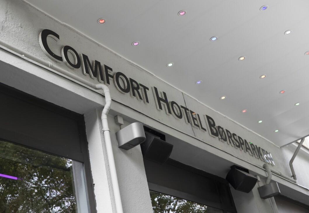 Comfort Hotel Børsparken i Oslo.