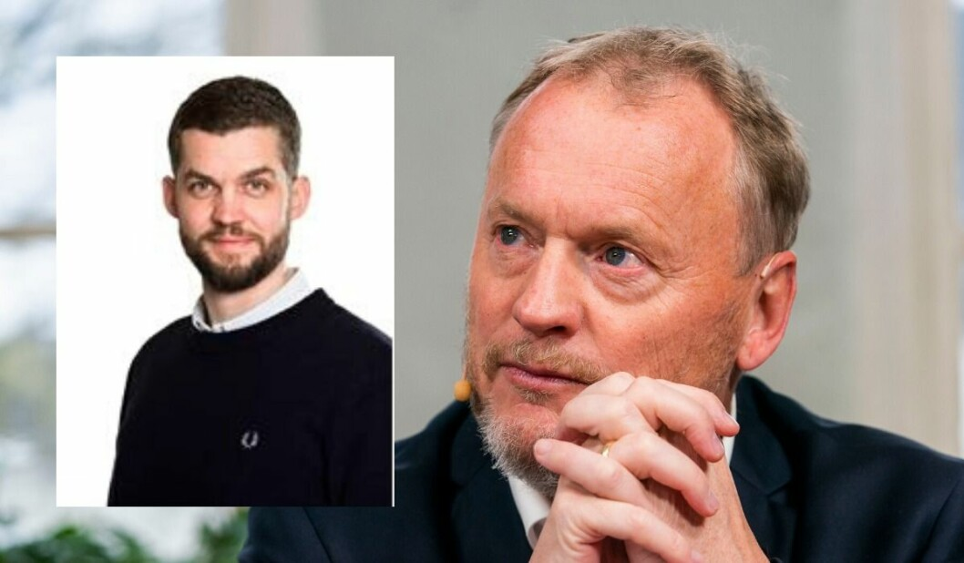 Anders Lundell (37) slutter som taleskriver for blant annet Kjell Ingolf Ropstad - og begynner som taleskriver for Raymond Johansen.