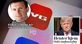 Skandaleoppslag på VG.no bidrar til å spre falske nyheter