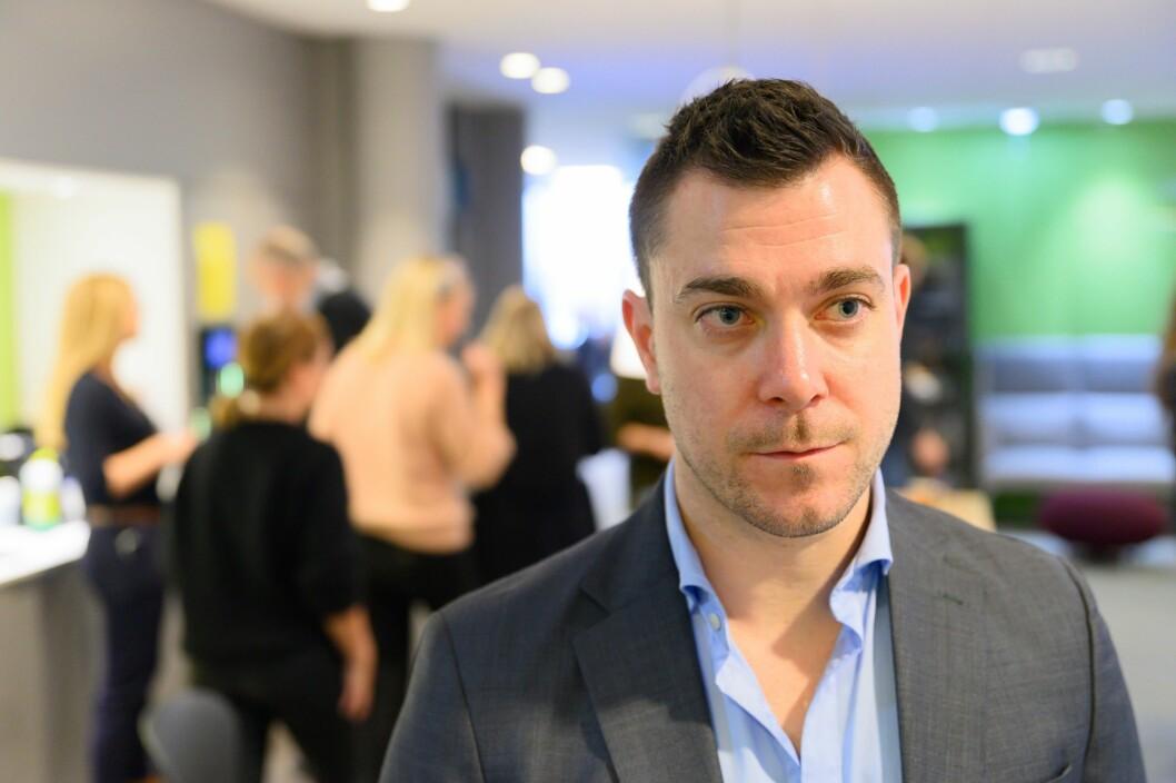 Jan Thomas Holmlund, redaksjonssjef i Dagbladet.