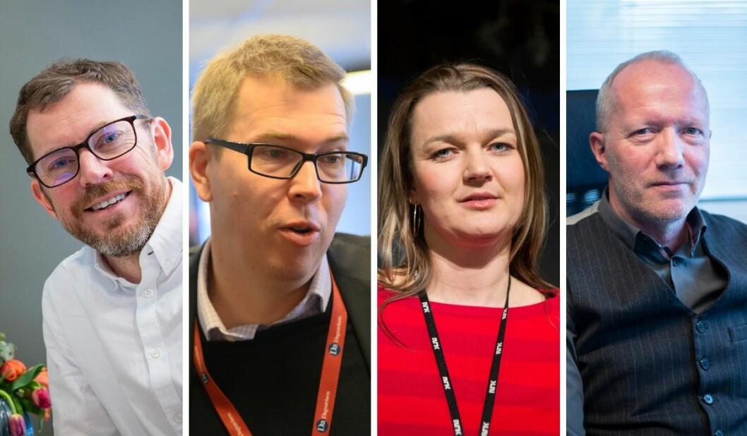 Bjørn Bore, Eirik Hoff Lysholm, Hege Iren Frantzen og Arne Jensen er alle skeptiske til opprettelsen av et nytt mediestøtteråd.