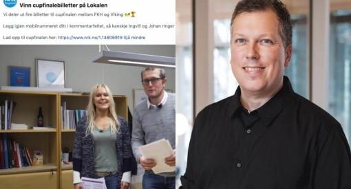 NRK bad om telefonnummer i Facebook-konkurranse: – Er de heilt frå vettet?