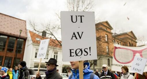 Nei, Nettavisen: Det er ikke historisk stor motstand mot EØS