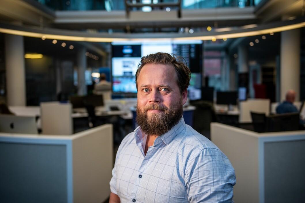 Journalist Cornelius Munkvik i Stavanger Aftenblad.