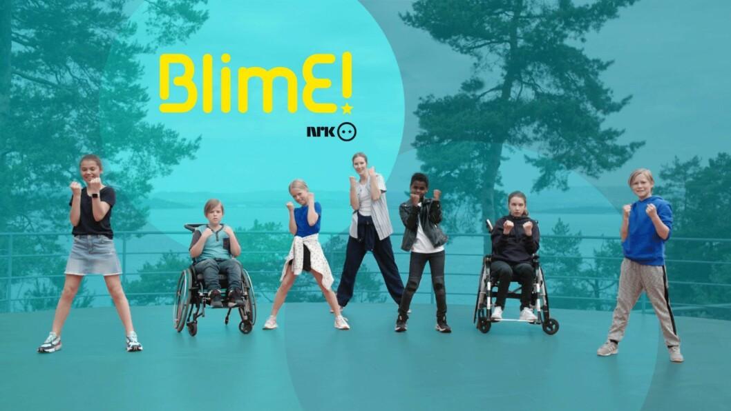 Hvert år arrangerer NRK Super en vennskapskampanje kalt BlimE. Illustrasjon: NRK