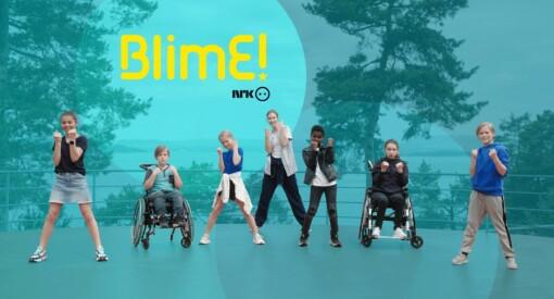 NRKs BliMe-dans er Norges mest populære musikkvideo på YouTube: – Kjempeartig