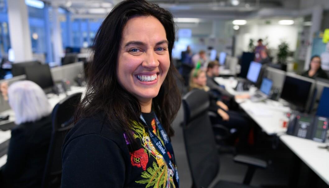Sjefredaktør Frøy Gudbrandsen i Bergens Tidende.
