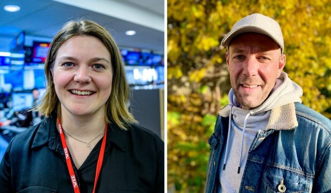 Ingerløw Elise Kopperud og Roy Furuhaug har begge fått nye lederoppgaver i VGTV.