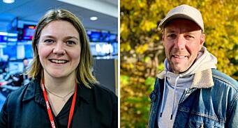 Ingeløw Elise Kopperud (29) og Roy Furuhaug (43) går inn i VGTV-ledelsen