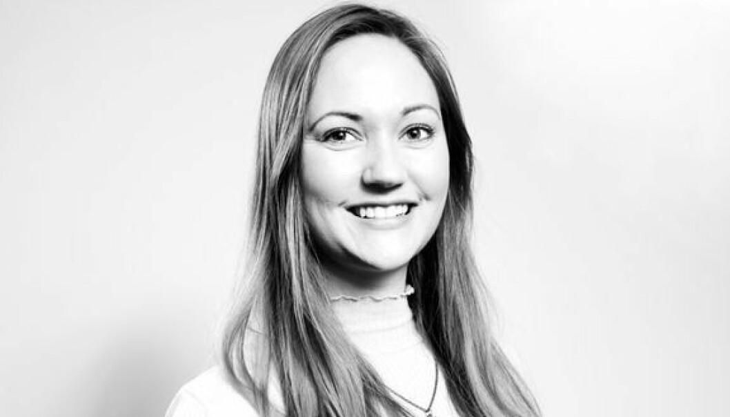 Alise Lea Tiller (29) redaktør i Dalane Tidende.