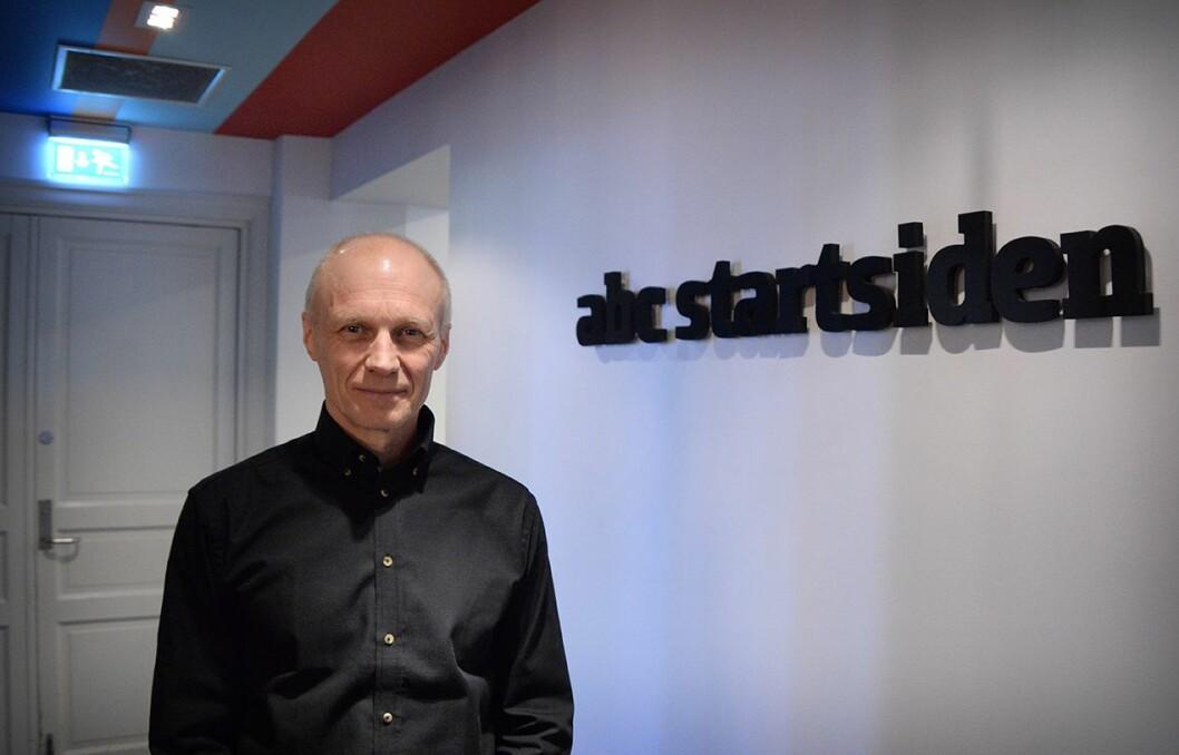 Ansvarlig redaktør og administrerende direktør Espen Udland i ABC Nyheter.