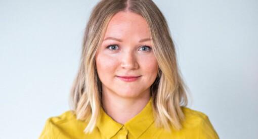VGs Runa Engen var overrasket over hvor få som jobbet i avisa da hun begynte