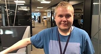 Tom-Richard Hanssen Olsen har fått fast jobb som videojournalist i NRK Sørlandet