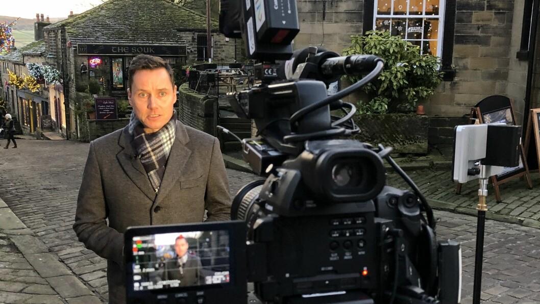 TV 2-reporter Kjetil Iden.