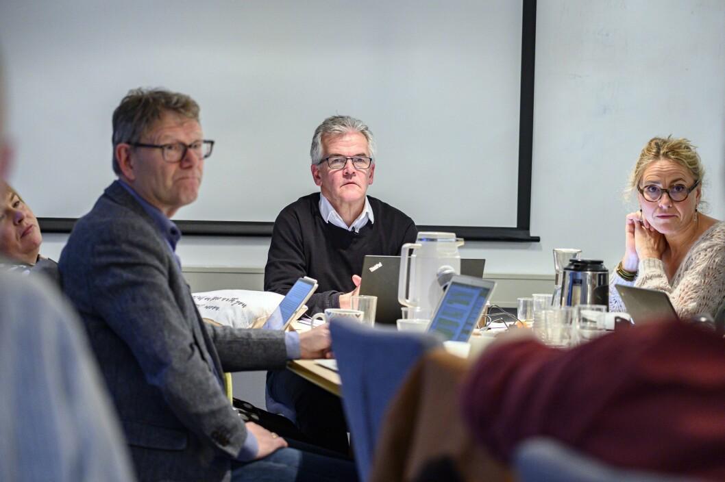 Ingrid Nergården Jortveit skriver om kontradiksjon i denne månedens PFU-blogg. Her er deler av utvalget avbildet under et møte i desember 2019.