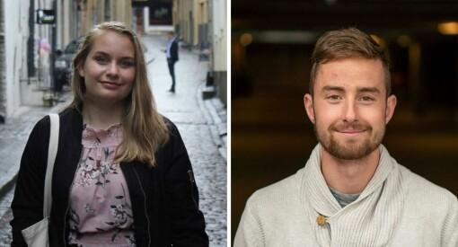 Camilla Hjelmeseth og Tarjei Engeset Ofstad ansatt i Sunnmørsposten