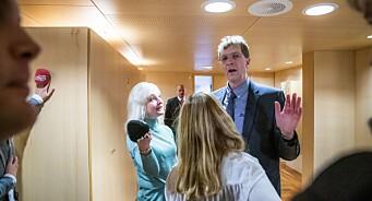 Journalistar misnøgd etter presseseanse med Sylvi Listhaug: – Ikkje haldbart