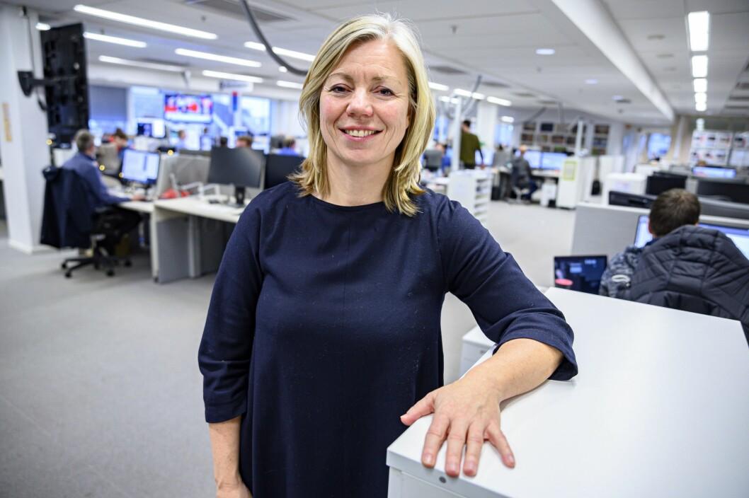 Sjefredaktør Trine Eilertsen er glad for å ha sin etterfølger på plass.
