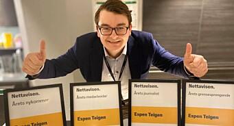 Espen Teigen stakk av med storeslem i Nettavisen-kåring: – Jeg er sjeldent målløs, men denne gangen ble jeg faktisk det