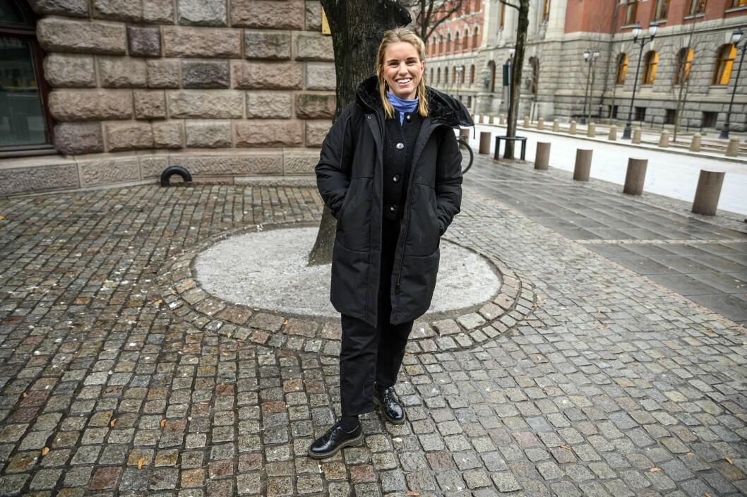 Synva Hjørnevik var både produsent og journalist under arbeidet med podkasten Utafor.