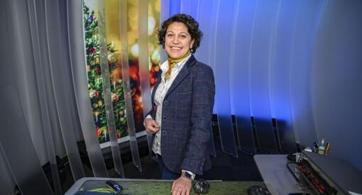 NRK-Yasmin skal jobbe på julaften for femte gang: – Jeg har selv et veldig anstrengt forhold til jul