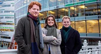 Dagens Næringsliv ansetter Birk (24), Kathinka (26), Petter (26) og Christian (35)