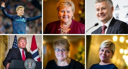 Dette er de mest omtalte personene i 2019