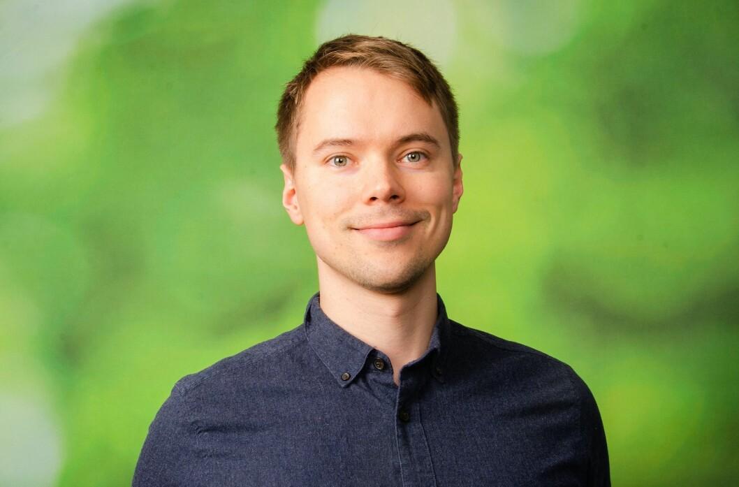 Thomas Lien, kommunikasjonsrådgiver i Venstre.