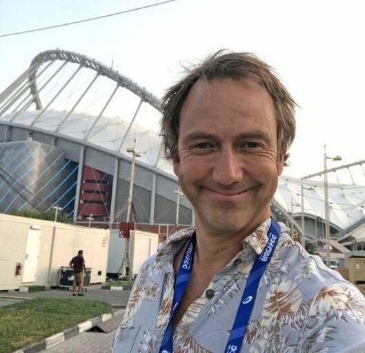 Jan Petter Saltvedt, sportskommentator i NRK.