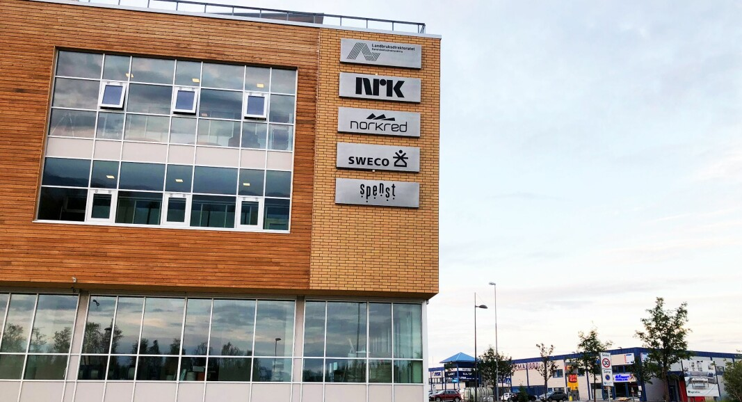 NRK Troms og Finnmarks kontorer i Alta.