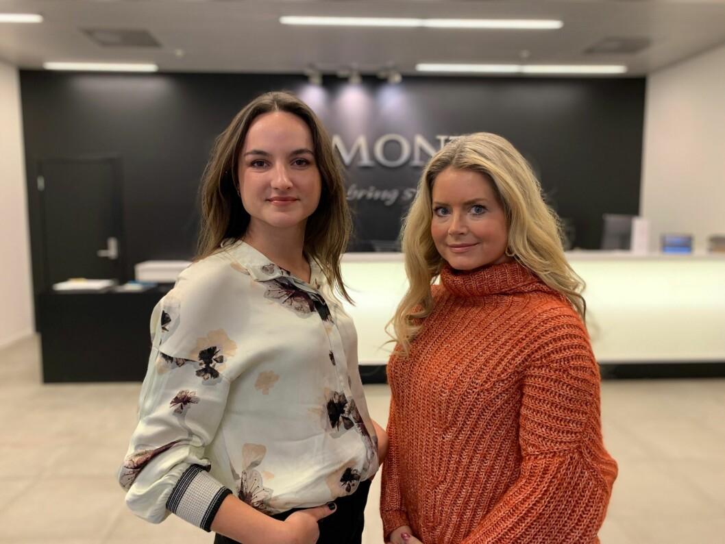 Egmont Publishing har ansatt Julie Opsvik (til venstre) og Maren Wilberg Rostad.