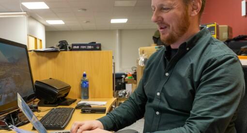 Erik Brenli (45) forlater Ságat - blir journalist i Finnmark Dagblad og iFinnmark