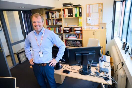 Administrerande direktør Christian Samuelsen i Klassekampen.