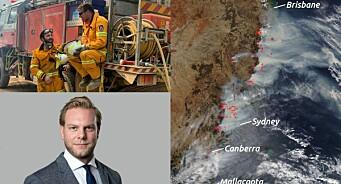 Skogbrannene i Australia gir Facebook-rekord