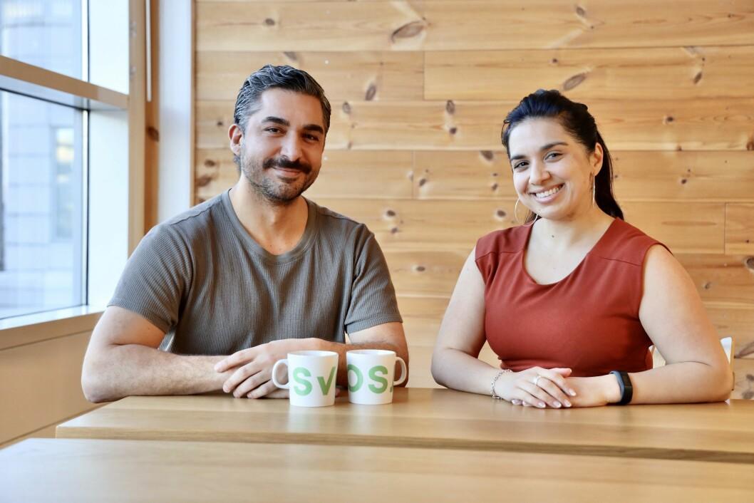Chihan Sen og Fatima Yusuf begynner i Svosj.