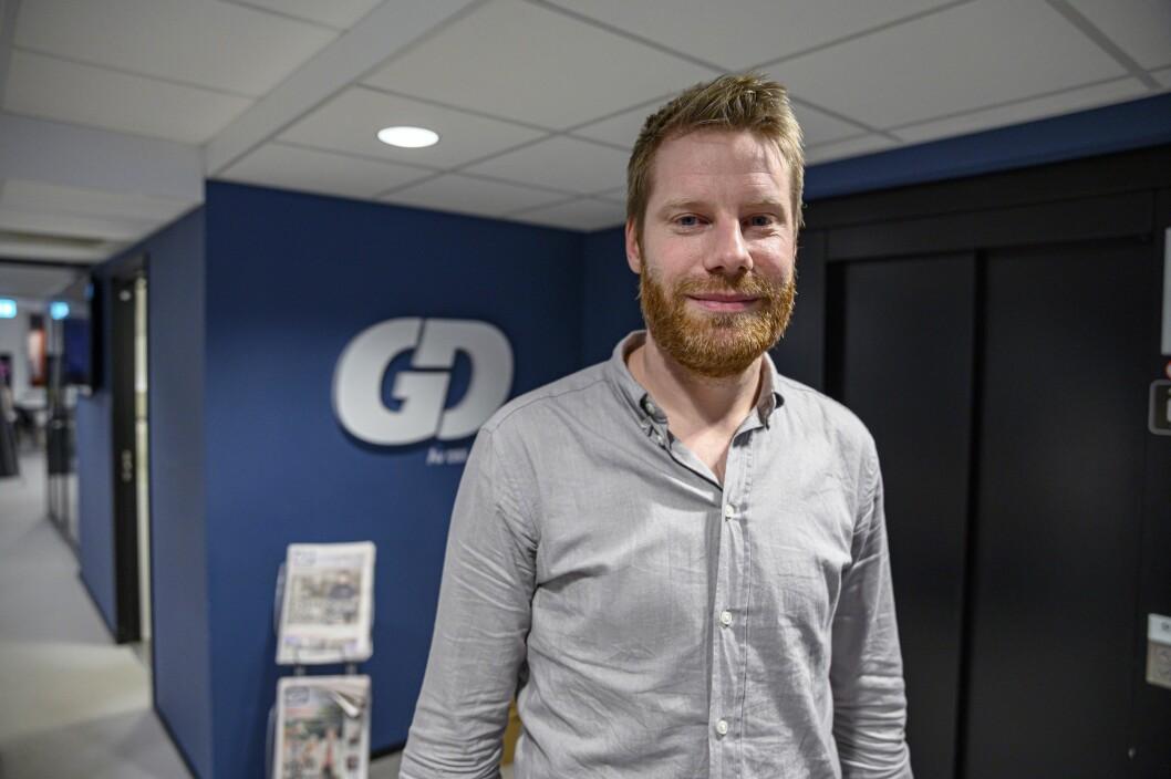 Reidar Kjæstad, nyhetsredaktør i GD.