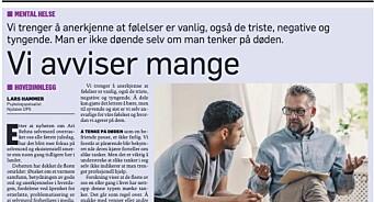 Dagbladet publiserte debattinnlegg av person med falsk identitet: – Me har blitt lurt