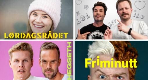 NRK topper listen: Her er Norges ti største podkaster