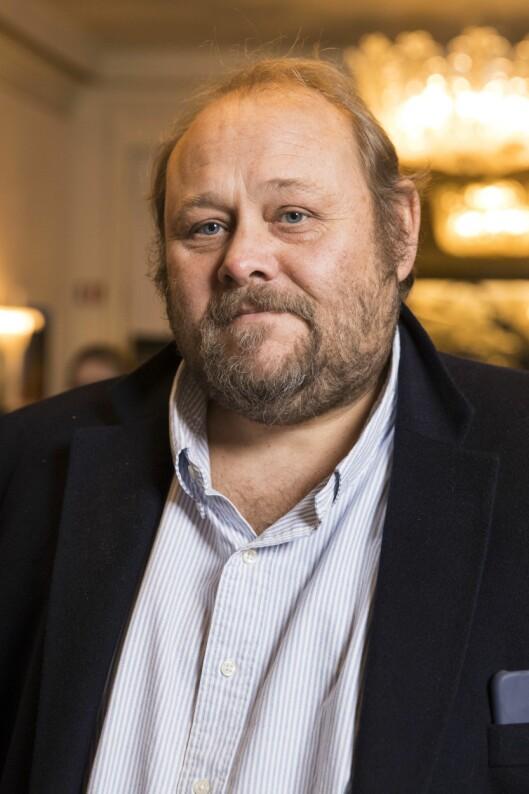 Se og Hør-redaktør Ulf André Andersen. Her frå markeringa av 100-årsdagen for Wenche Foss' fødsel.