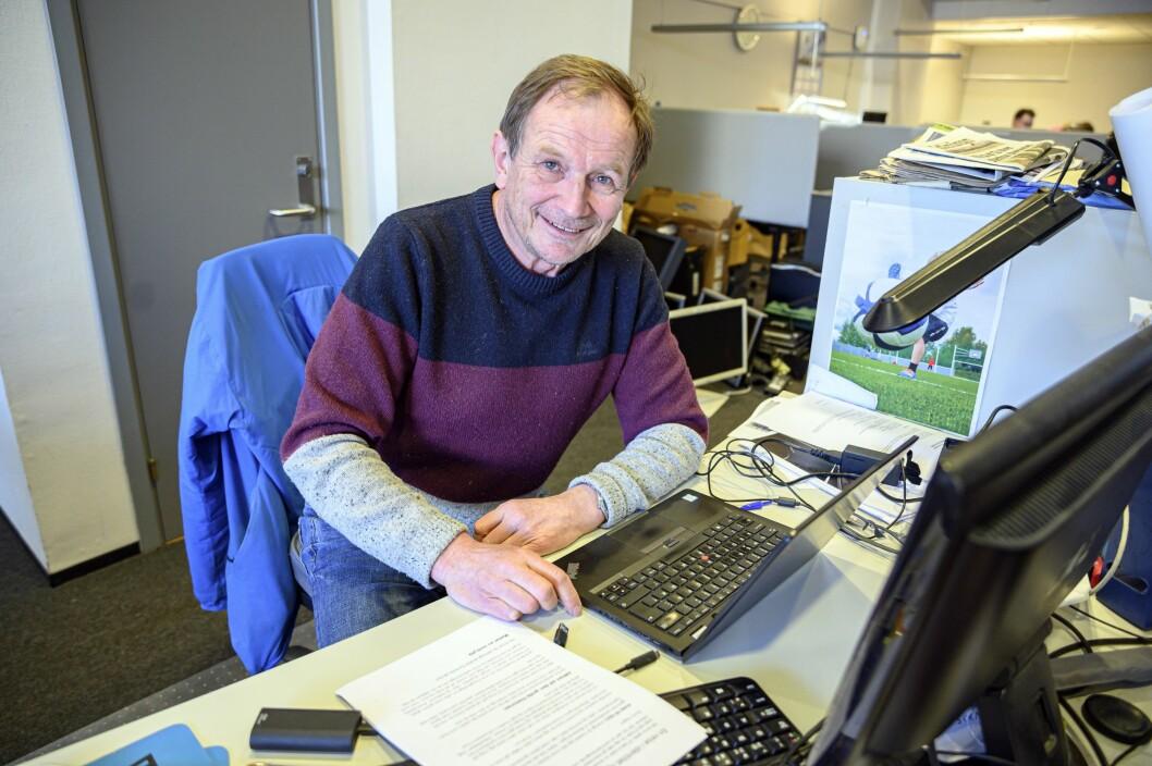Østlendingens journalistveteran Rune Hagen bestemte seg for å møte avisens lesere på nært hold.