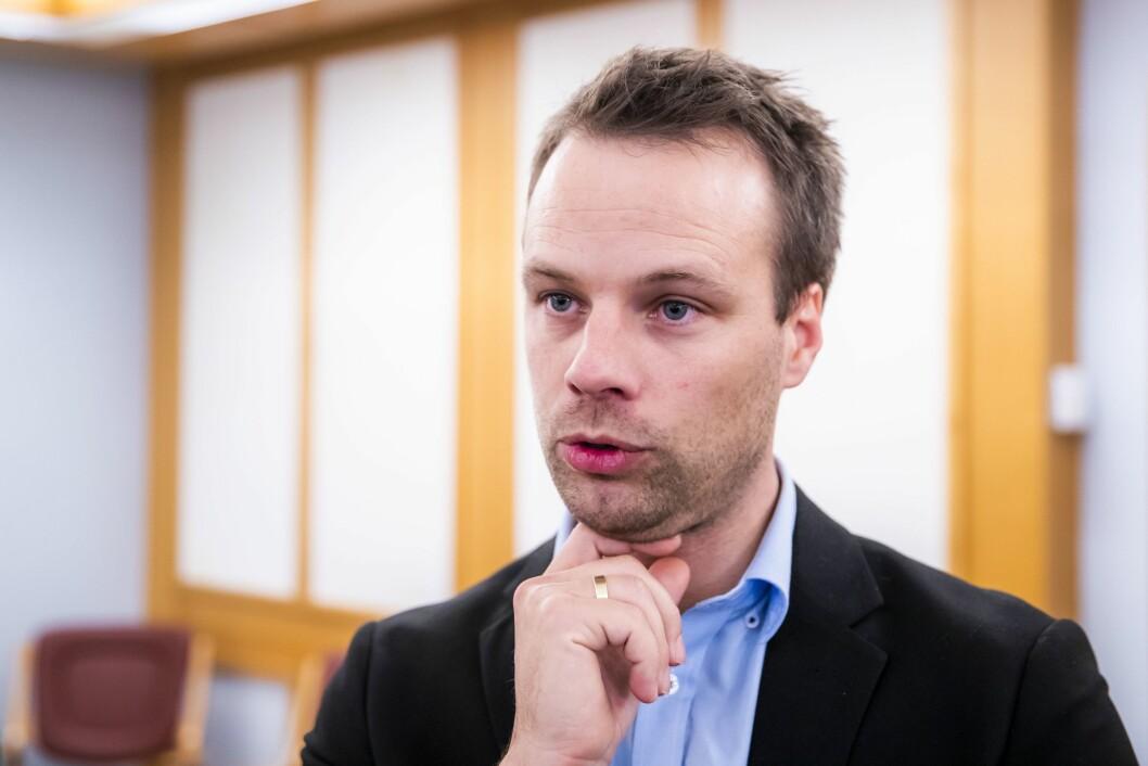 Innvandringspolitisk talsmann Jon Helgheim i Framstegspartiet.