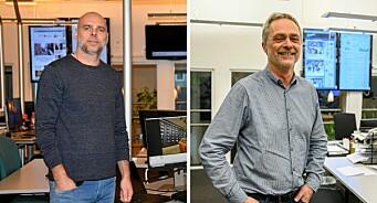 Carsten Bleness går av som sjefredaktør for Hamar Arbeiderblad - John Arne Holmlund overtar: – En god løsning