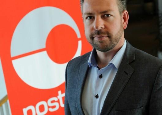John Eckhoff er kommunikasjonsdirektør i Posten,