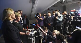 Frps regjeringsexit skapte kok i Presse-Norge: – Det er slike dager vi er rigget for
