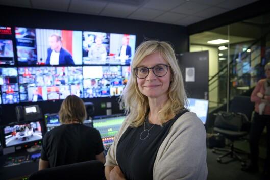 Nyheitsredaktør Karianne Solbrække i TV 2.
